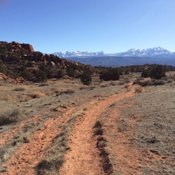 More of Moab's Hidden Valley Trail.