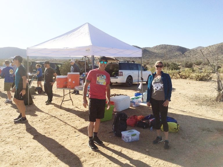 Blair Valley Aid Station (mile 18)